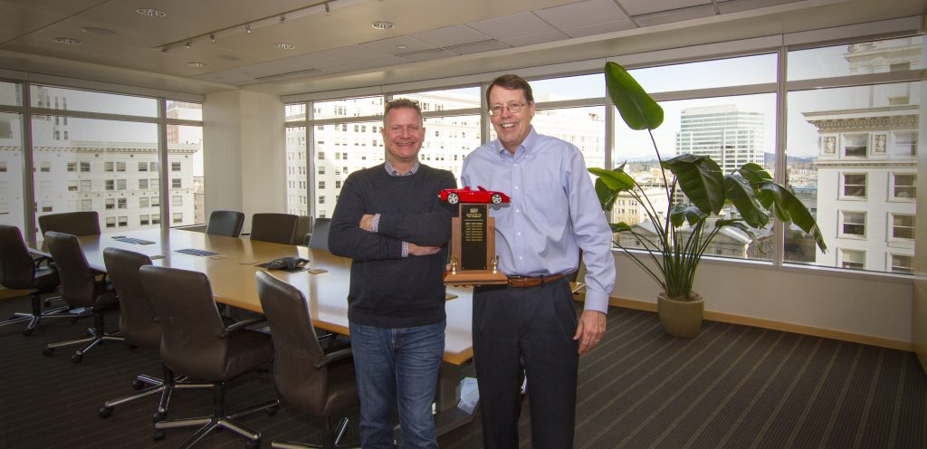 Capacity Commercial Group honors Broker of the Year Mark Childs, SIOR and Vice President Steve Hunker