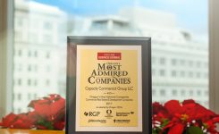 Capacity Commercial Group makes the list of Oregon's Most Admired Companies 2017
