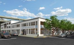 Ex-Industrial Building Becoming Creative Office Space