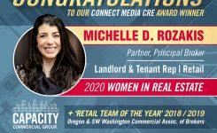 Congratulations, Michelle!